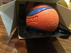 ball teaser into box