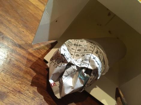 stuffed tubed in box
