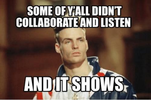 Collaborate & Listen
